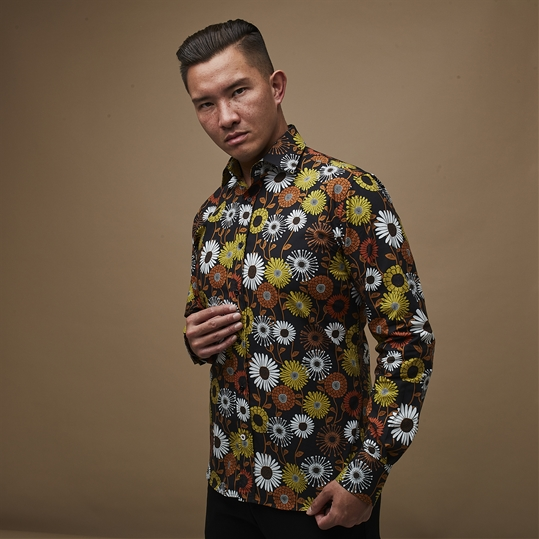 Retro Flower Shirt