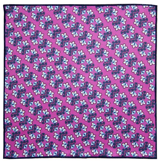Kaleidoscope Microfiber Pocket Square