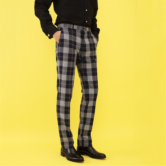 Klinsey Check Trouser