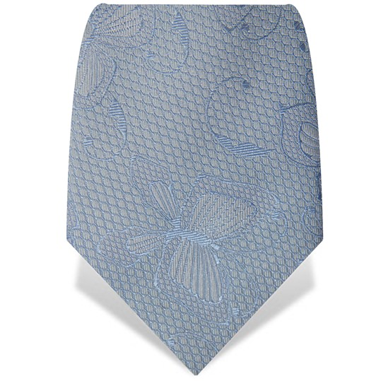 Blue Butterfly Silk Tie