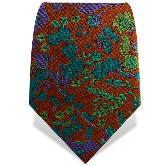Orange Ophelia Tie