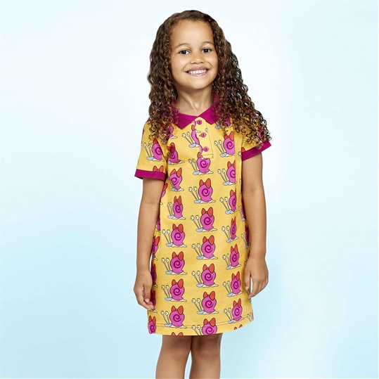 Mary The Snail Polo Dress