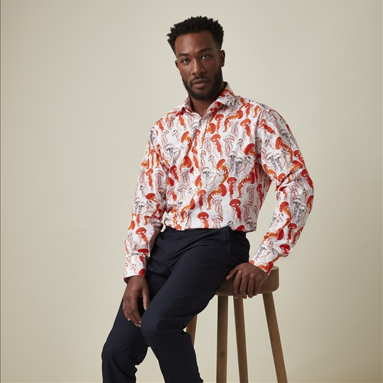 Tangerine Jellyfish Shirt