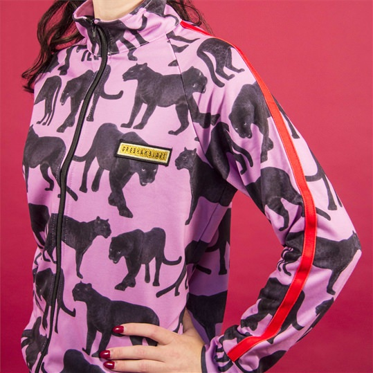 Pink 'Panther' Unisex Tracksuit Top