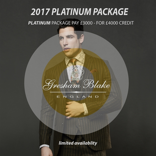 Platinum Wardrobe Package