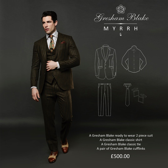 'Myrrh' Christmas Gift Package