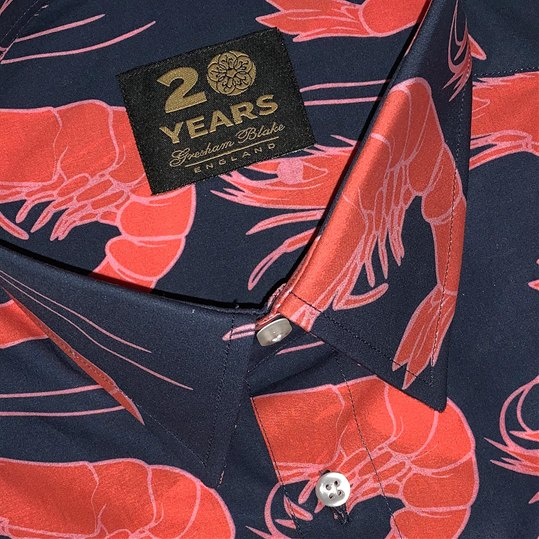 Short Sleeved Shrimps Shirt