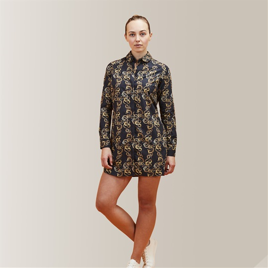 A Knot Of Snakes Shirt Dress