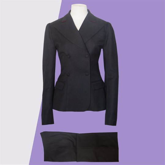 Womens Black 'Collette' Suit