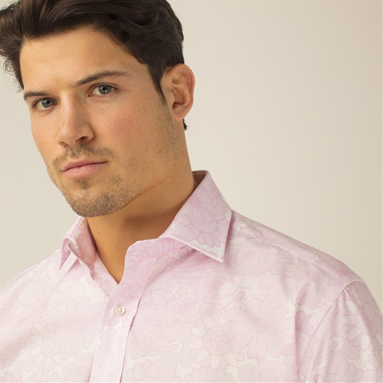 Pink Power Flower Shirt