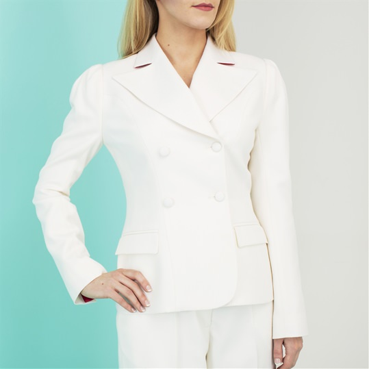 Cream Collette Suit