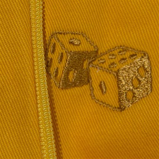 Yellow 'Dice' Chinos