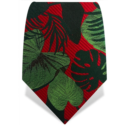 Red & Green Palm Tie