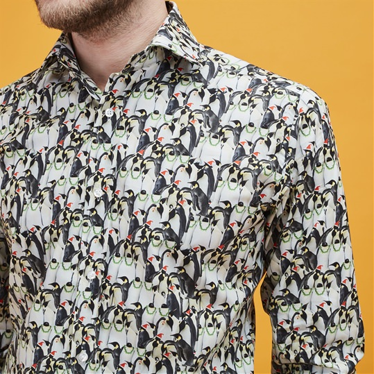 Festive Penguin Shirt