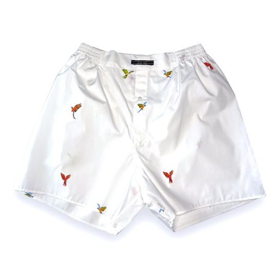 Tropical Bird Boxer Shorts