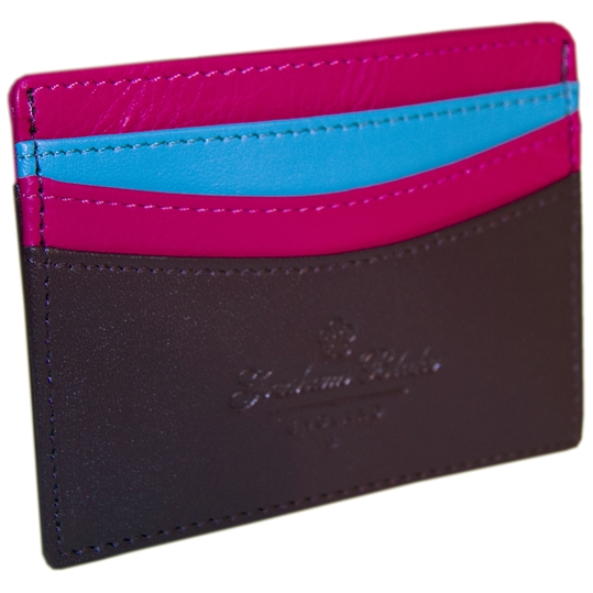 Purple Card Holder