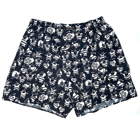 Santa Claus Christmas Boxer Shorts