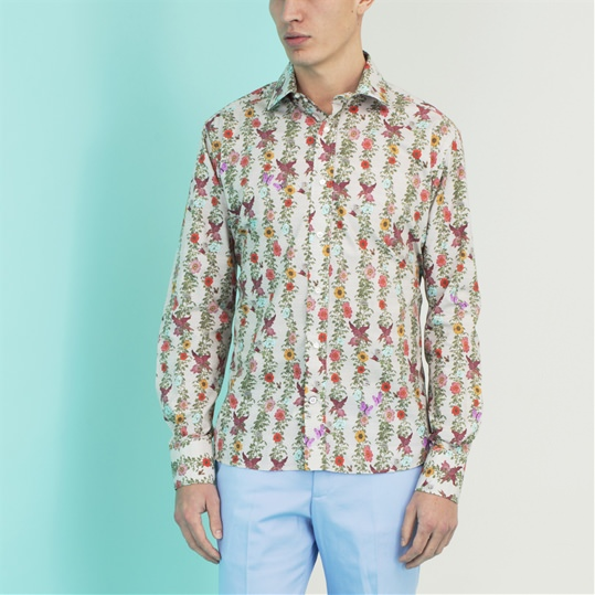 Cream Vine Shirt