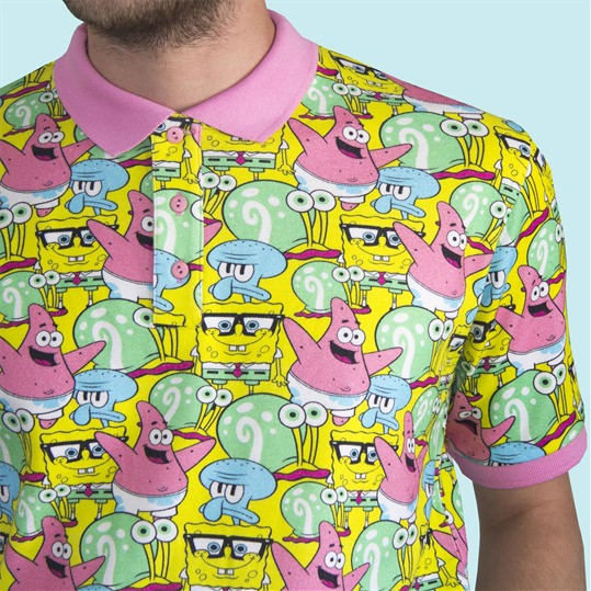 Spongebob Clan Polo Shirt