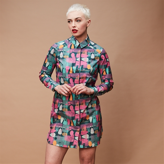 Jazz Shirt Dress