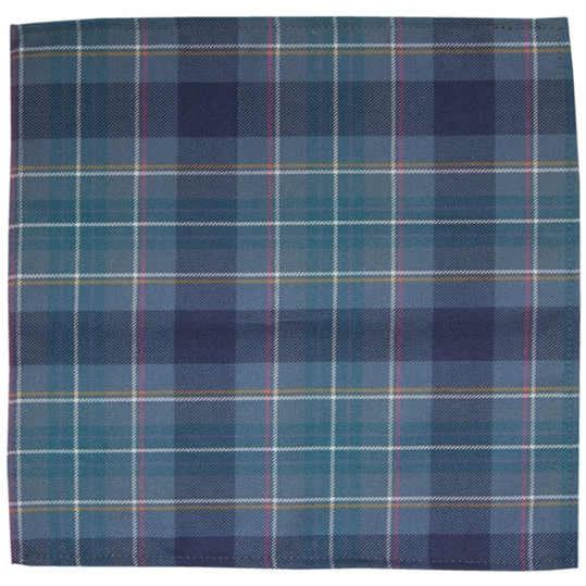 Brighton and Hove Tartan Pocket Square