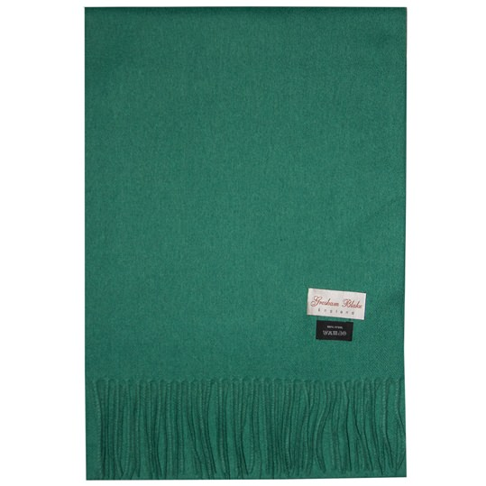 Emerald Green Wool Scarf