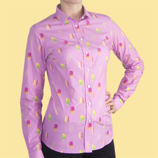 Womens Ice Lolly Shirt