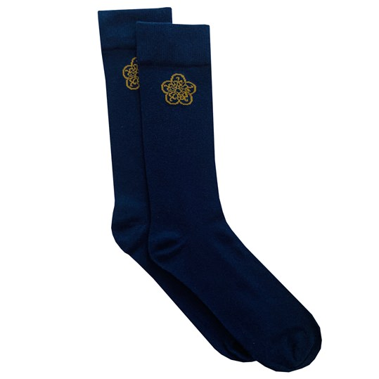 Navy GB Logo Sock