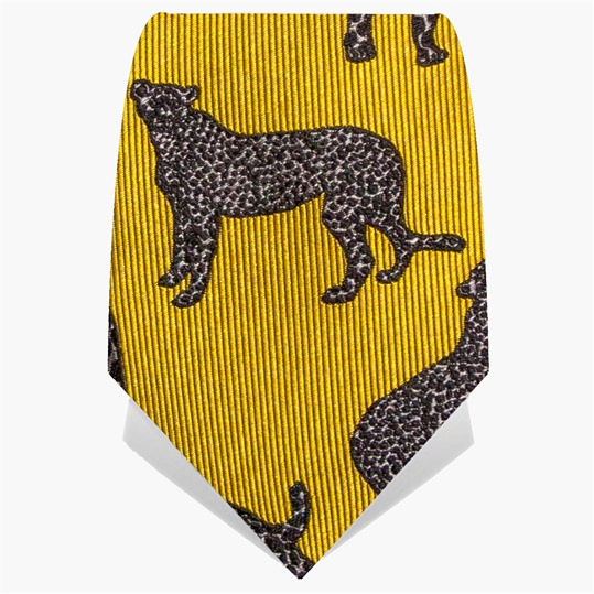 Gold Panther Tie