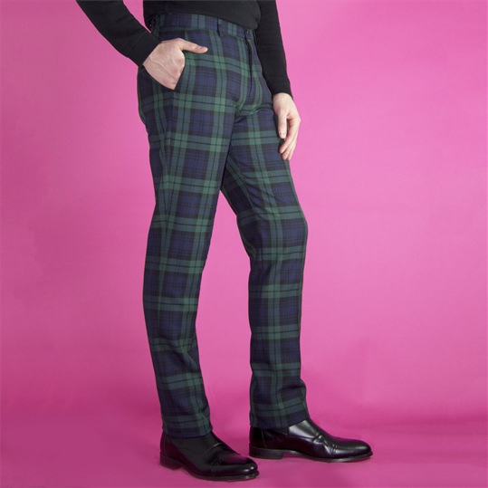 Blackwatch Tartan Trouser