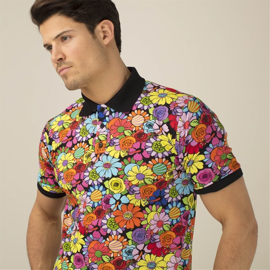 Flower Power Polo Shirt