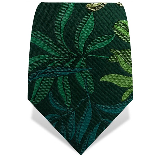 Green Leaves Tie