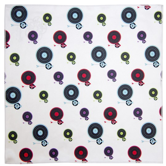 Record Deck Microfiber Pocket Square