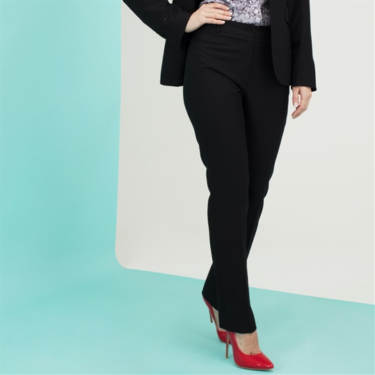 Ladies Black Wool Trousers