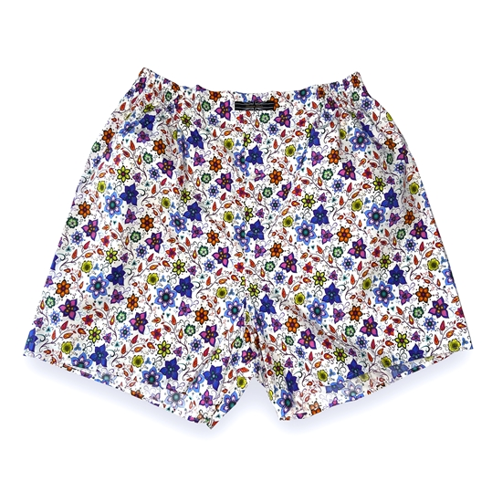 Vibrant Flower Boxer Shorts