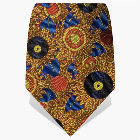 MTV Staying Alive Foundation Sunflower Tie