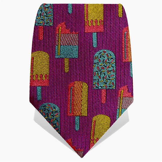 Purple Lollies Tie