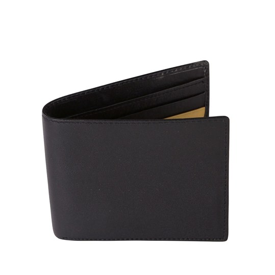 All Black Leather Wallet