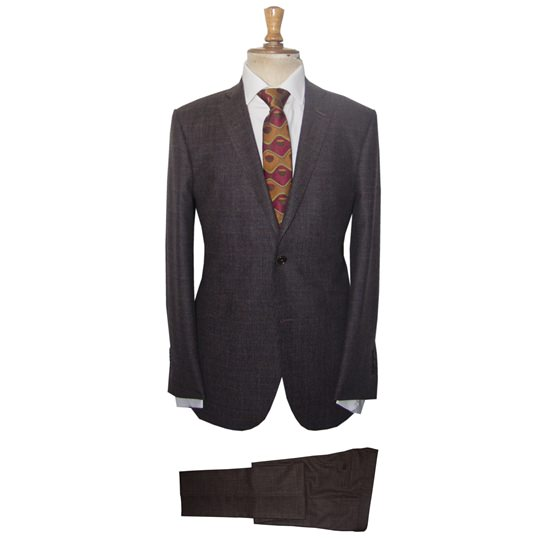 Brown Prince of Wales Suit