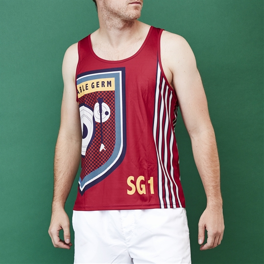 Maroon Shakeable Germ Vest