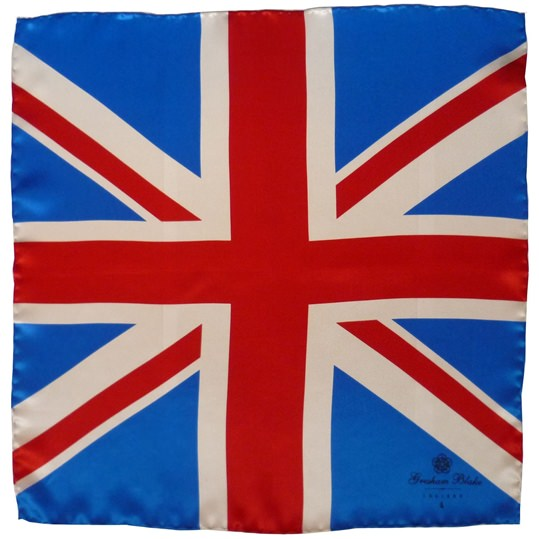 Traditional Union Flag Pocket Square