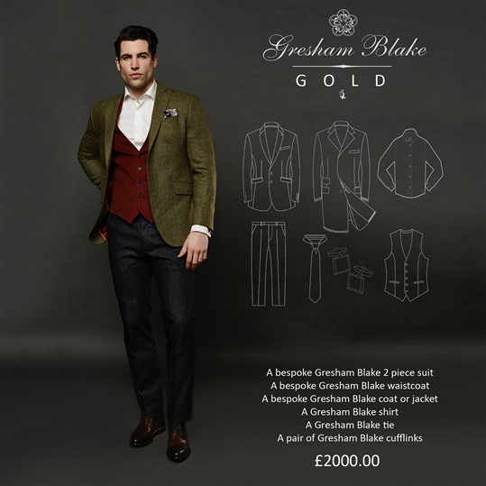 'Gold' Christmas Gift Package