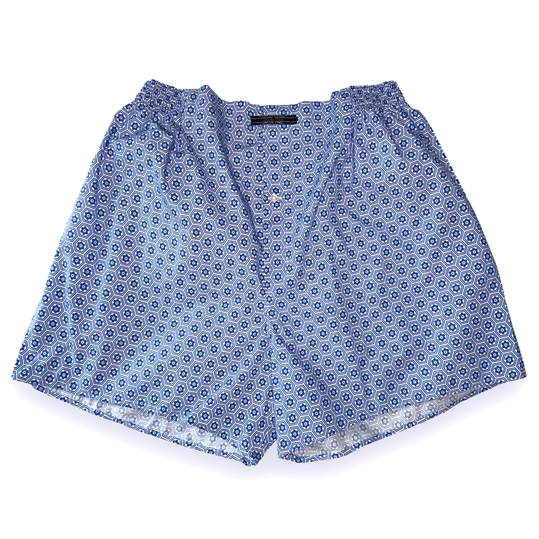 Hexagon Flower Boxer Shorts