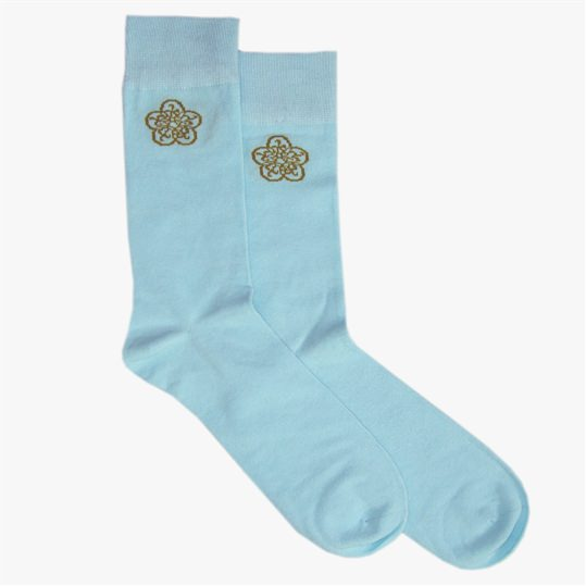 Blue GB Logo Sock