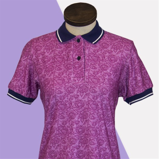 Rose Polo Dress