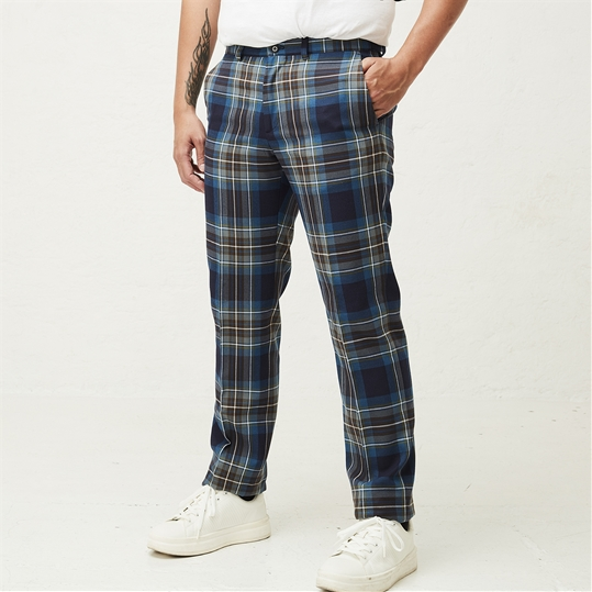 Holyrood Check Trousers