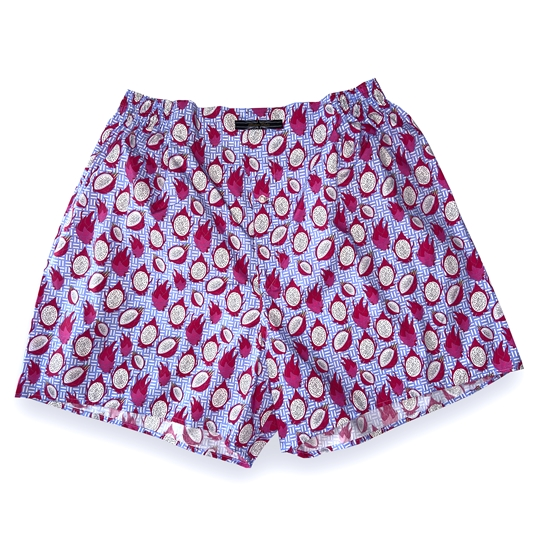 Blue Dragon Fruit Boxer Shorts