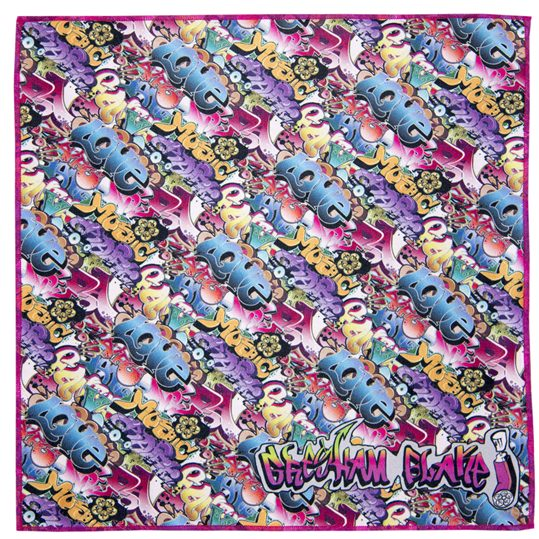 Graffiti Microfiber Pocket Square