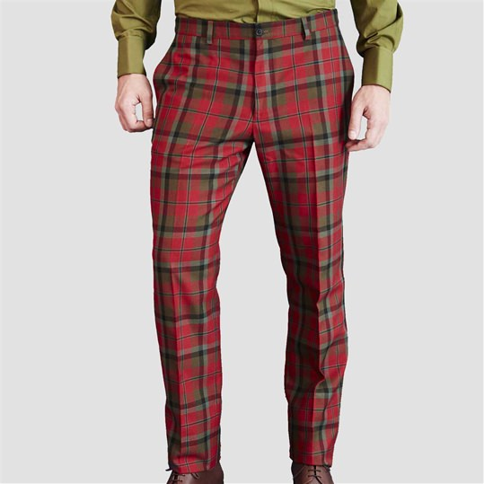 McNaughton Muted Check Trouser