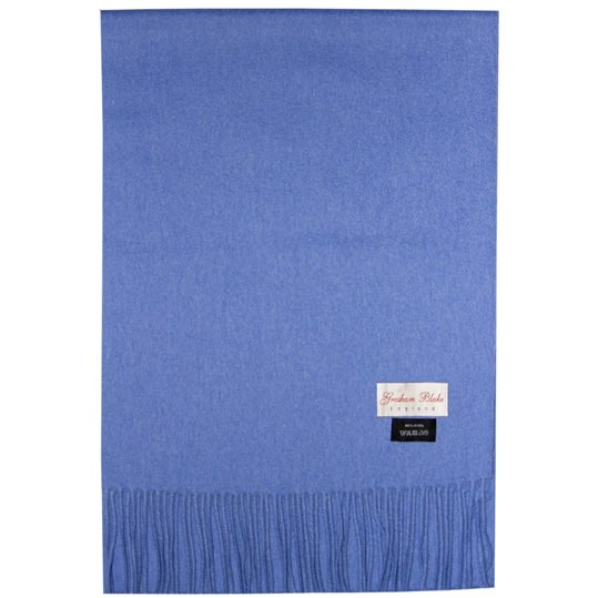 Sky Blue Wool Scarf